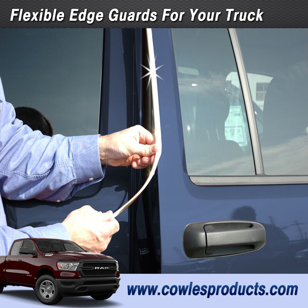 Cowles® S37204 Custom Chrome Truck Edge Guard Trim 8'