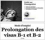 Extension visa B-1 et B-2
