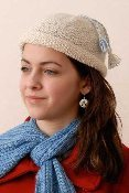 Easy Roll Brim Hat Knitting Pattern