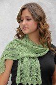 Suri's New Shale Scarf Knitting Pattern