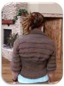 Circle Shrug Knitting Pattern