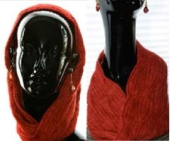 Snood, Cowl or Mobius Scarf