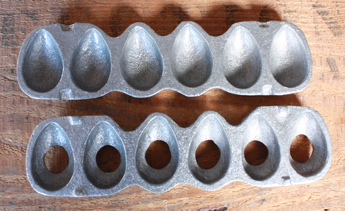 Eggs (Small), Aluminum Clear Toy Candy Mold