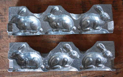 Rabbits (Small), Aluminum Clear Toy Candy Mold