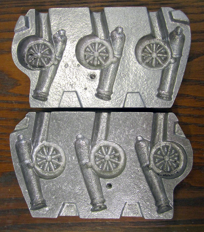 Cannon (Small), Aluminum Clear Toy Candy Mold