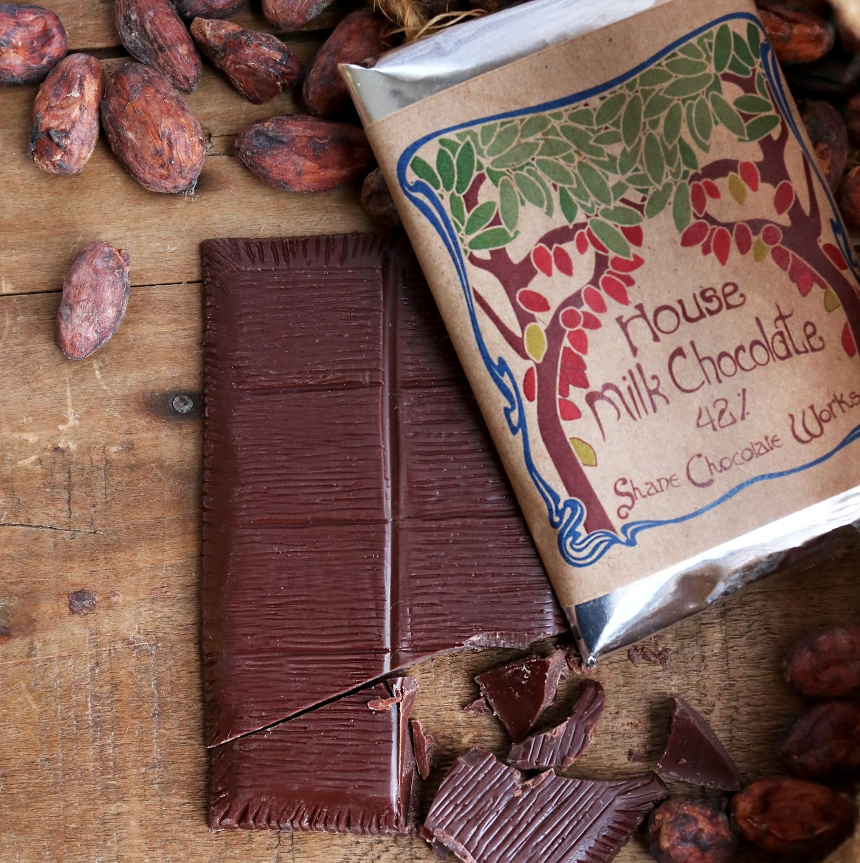 House Milk Chocolate Bar (48%, 2 oz.)