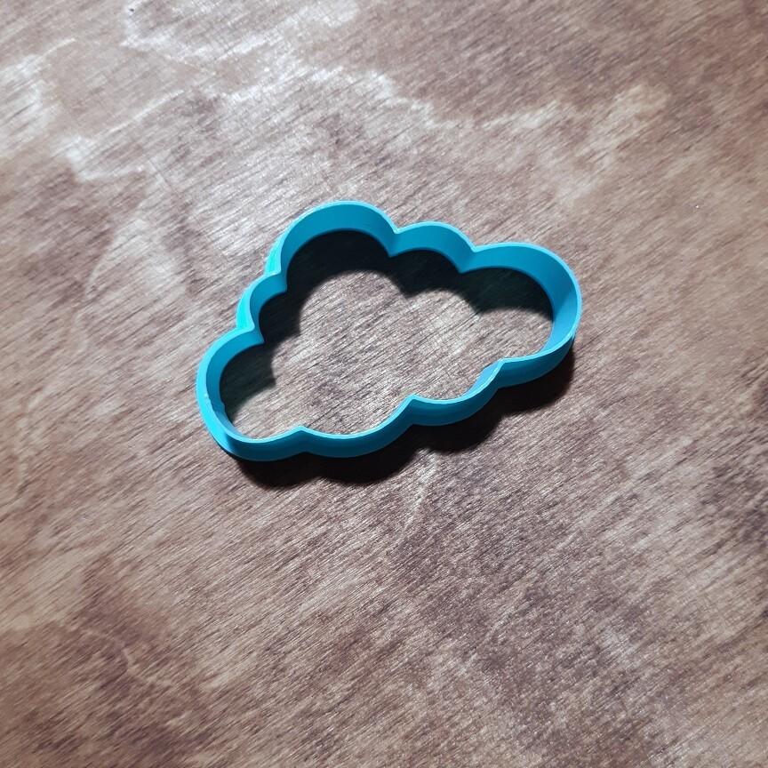 """Форма для пряника """"Облако №1"""" (6х3,5 см)"""