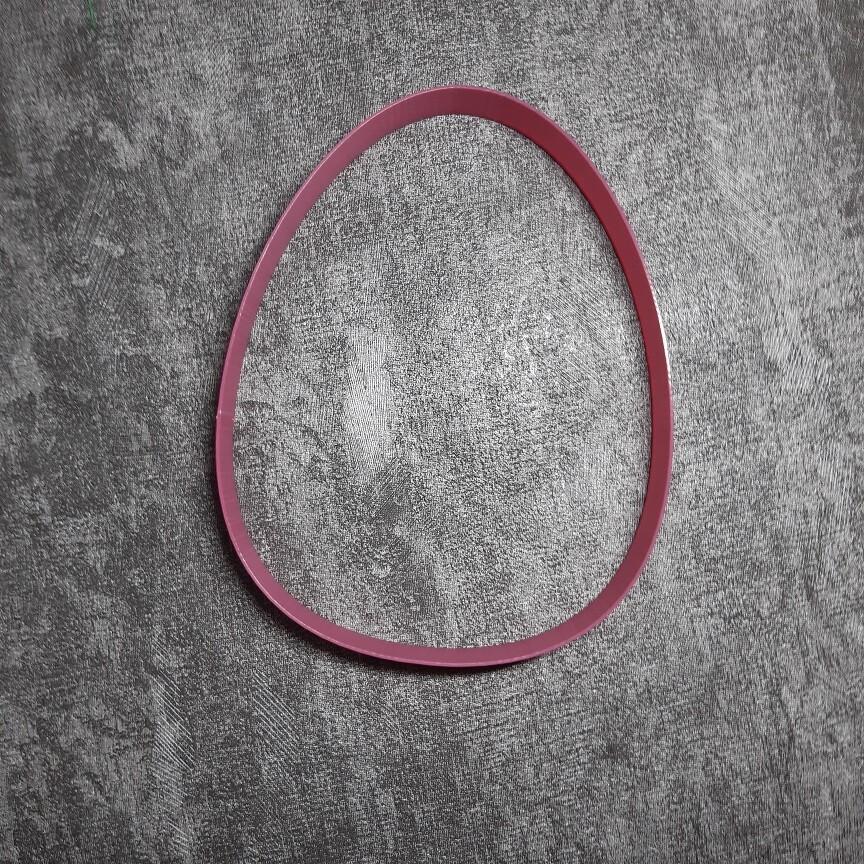 """Форма для пряника """"Яйцо №2"""" (9,5х12 см)"""