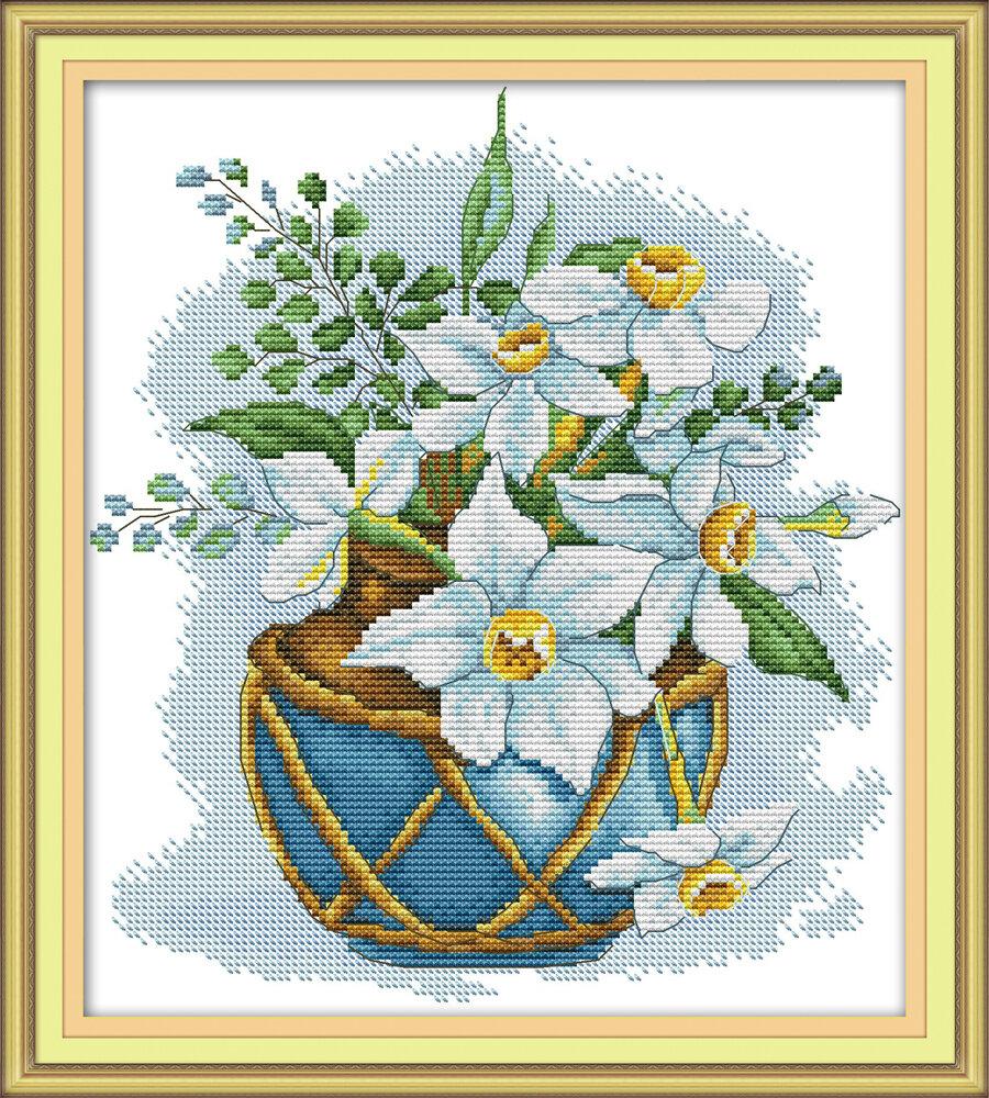 Набор для вышивания H 755 Нарциссы 28х31