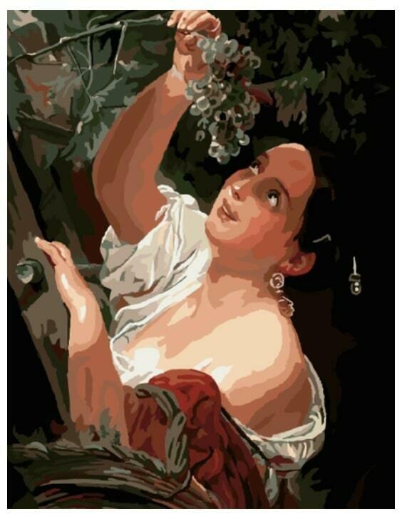 Картина по номерам GX 8150 Итальянский полдень (Брюллов) 40*50