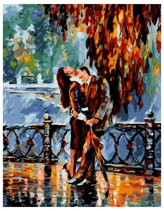 Картина по номерам GX 7863 Страстный поцелуй 40*50