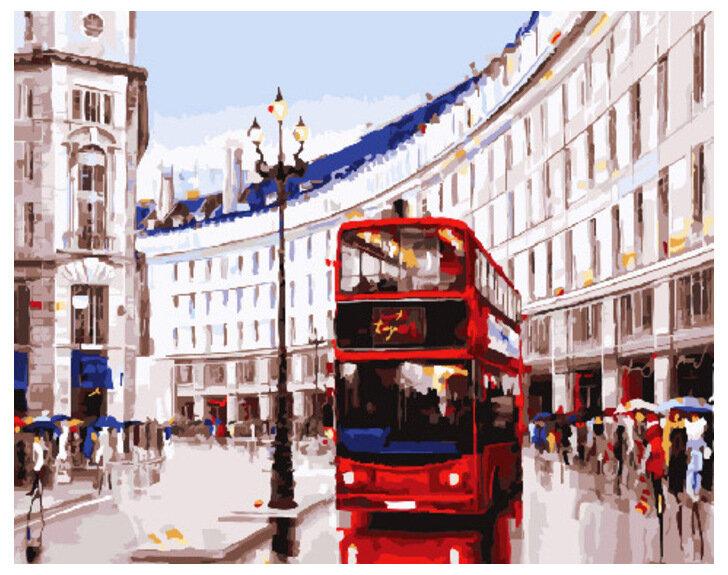 Картина по номерам GX 30731 Будни Лондона 40*50