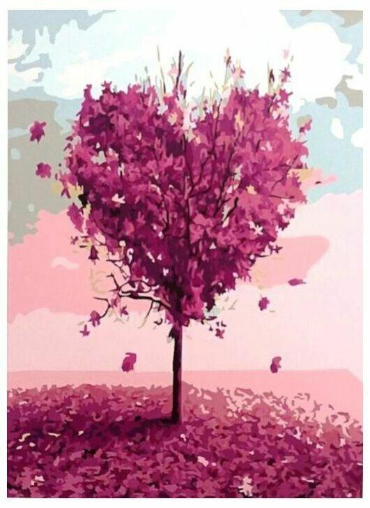 Картина по номерам Paintboy Original Дерево любви 40х50