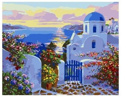 Картина по номерам GX 26673 Рай у самого моря 40*50