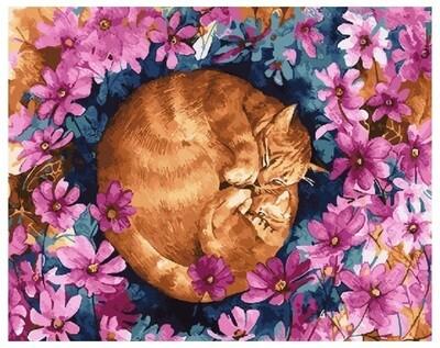 Картина по номерам GX 27388 Сладкий сон 40*50