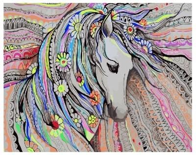 Картина по номерам GX 25768 Милая лошадка 40*50