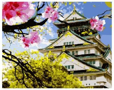 Картина по номерам GX 30023 Азиатская весна 40*50