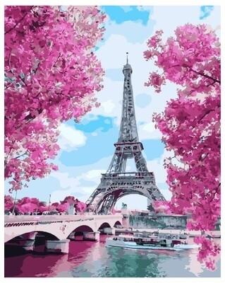Картина по номерам PK 24027 (GX 28167) Весенняя Франция 40*50