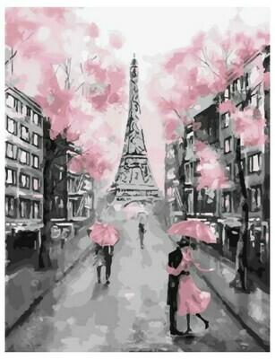 Картина по номерам GX 22055 Гламурный Париж 40*50