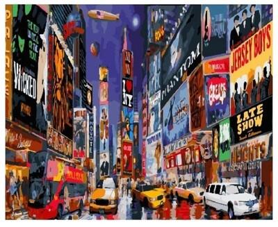 Картина по номерам PK 18002 (GX 26592) Нью-Йорк 40*50