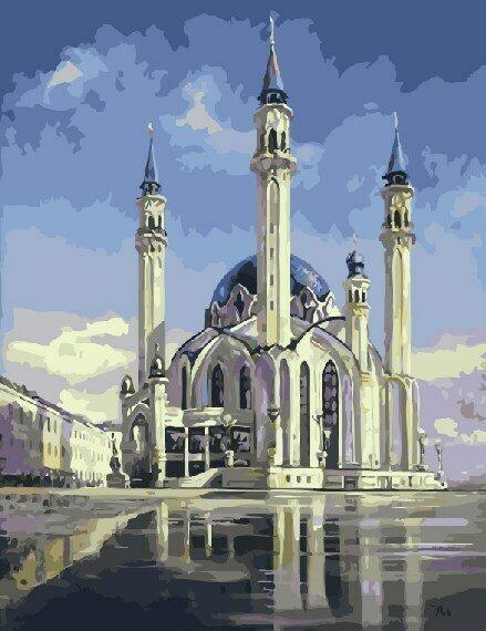 Картина по номерам GX 7904 Мечеть Кул-Шариф 40*50