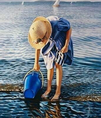 Картина по номерам 40х50 - Набор воды