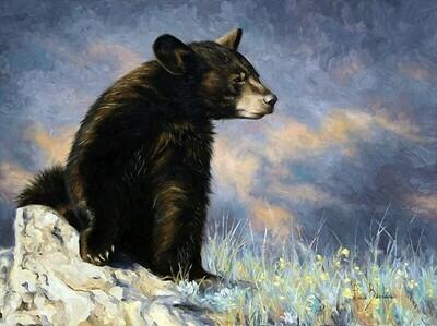 Картина по номерам 30х40 - Бурый медведь