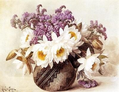 Картина по номерам 40х50 - Разные цветы