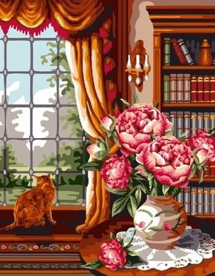 Картина по номерам 40х50 - Комната аристократа