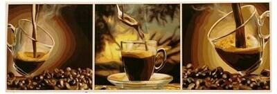 Набор для рисования модульной картины Paintboy В кофейных тонах PX5168