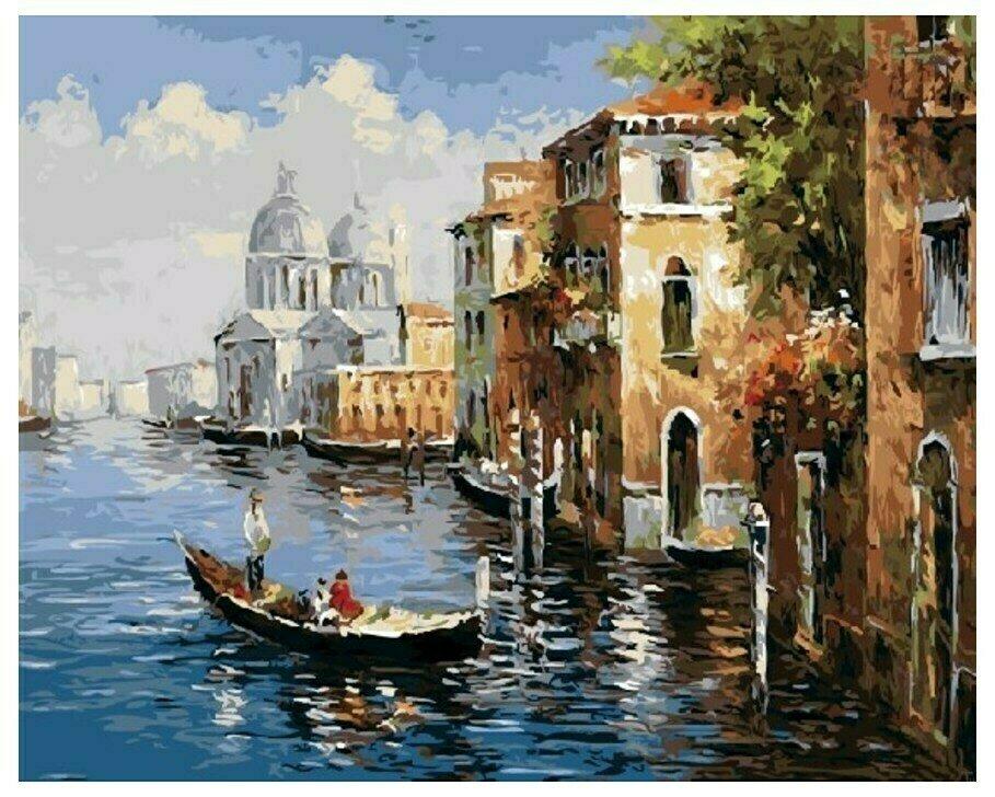 Картина по номерам GX 8606 (GX 9621) Венеция 40*50