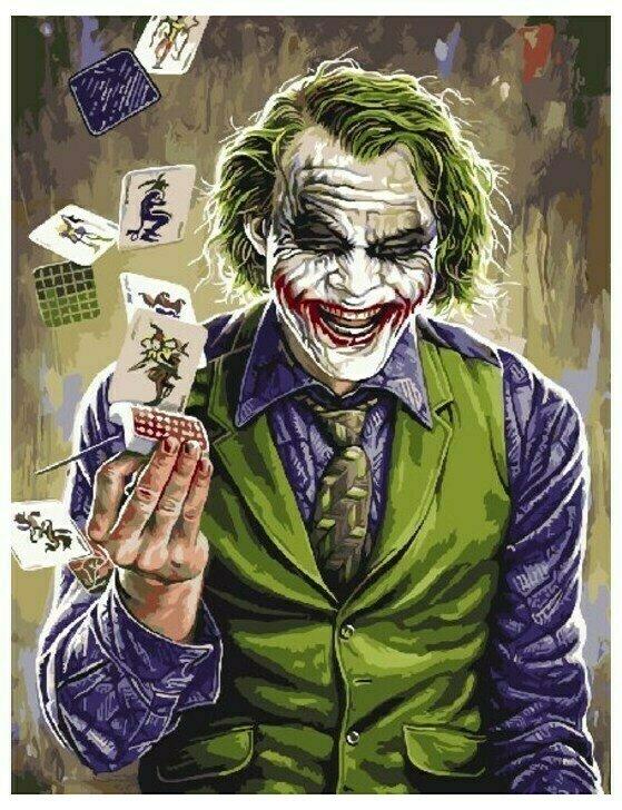 Картина по номерам GX 9772 Джокер 40*50