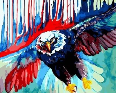 Картина по номерам 40х50 - Кровавый орел
