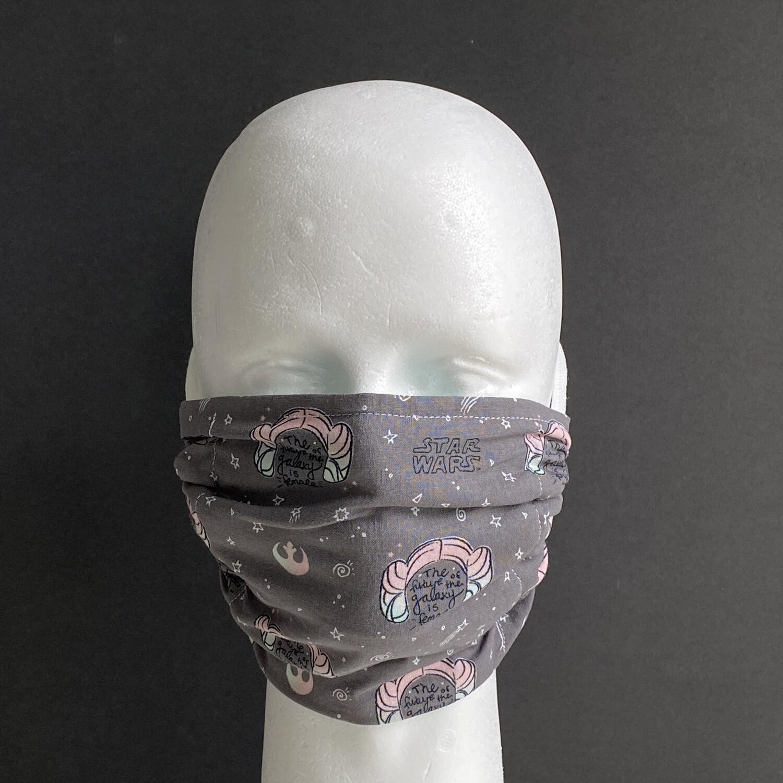 Star Wars Buns Adjustable Reusable Cloth Face Mask
