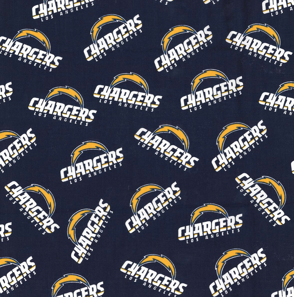 Football Los Angeles Chargers Adjustable Reusable Cloth Face Mask