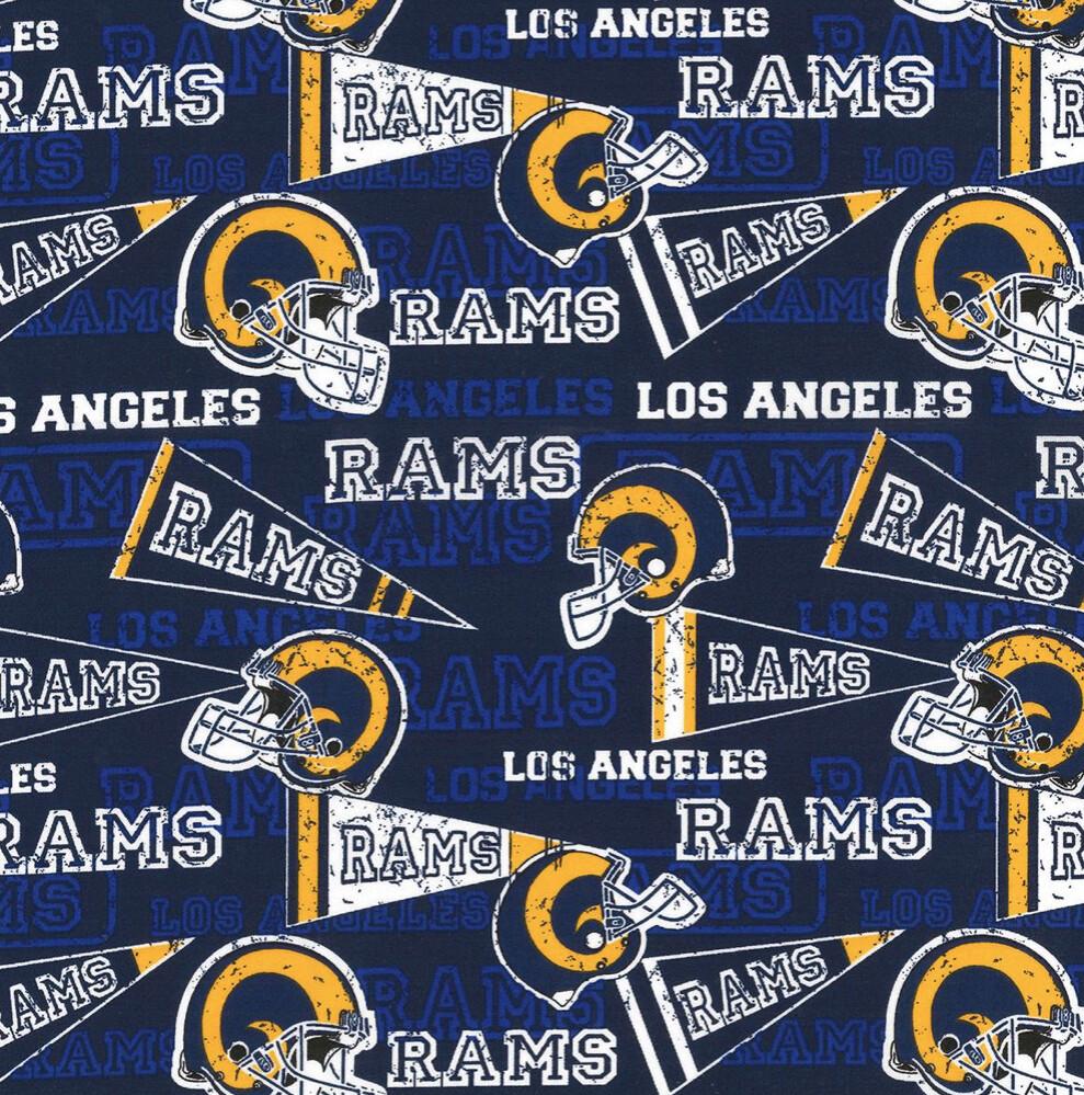 Football Los Angeles Rams Adjustable Reusable Cloth Face Mask