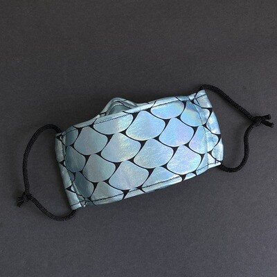 EasyFit Mermaid Scales Reusable Cloth Face Mask