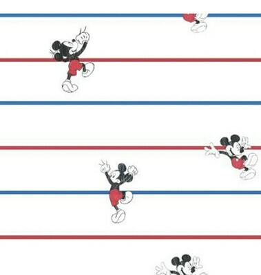 EasyFit Disney Mickey Mouse Classic Stripe Reusable Cloth Face Mask