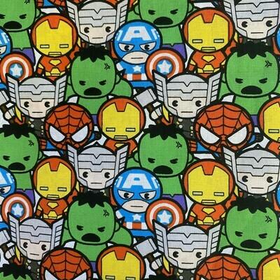 EasyFit Marvel Avengers Kawaii Reusable Cloth Face Mask