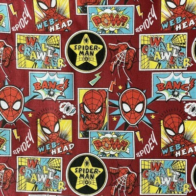 EasyFit Spider-Man Outside the Box Reusable Cloth Face Mask