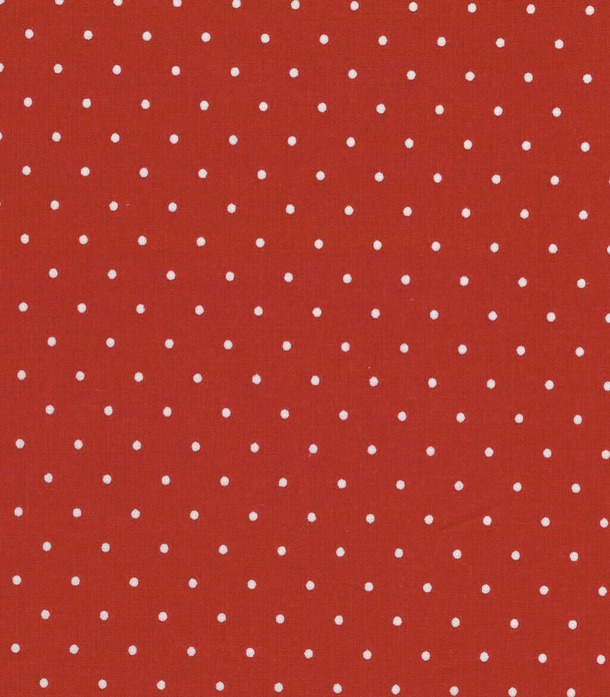 EasyFit Red Polka Dot Reusable Cloth Face Mask