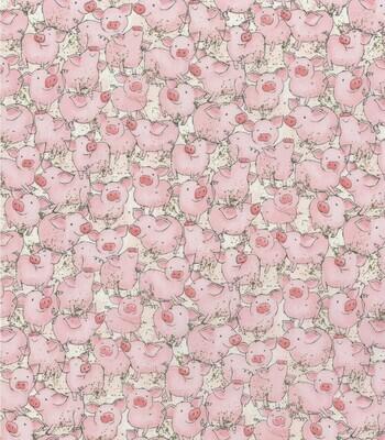 EasyFit All The Little Piggies Reusable Cloth Face Mask