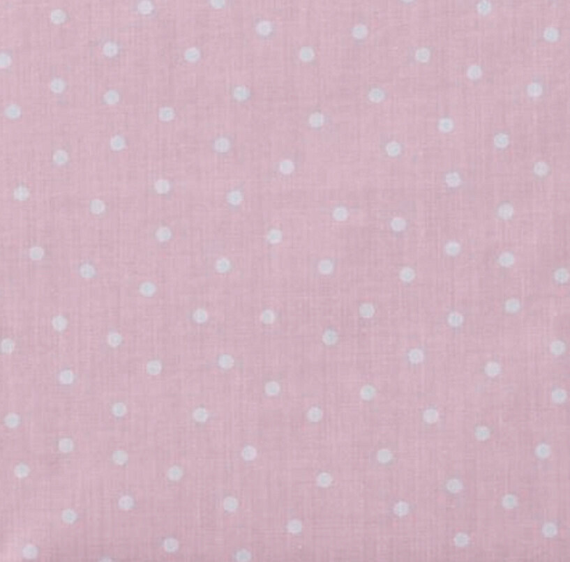EasyFit Light Pink Polka Dot Reusable Cloth Face Mask
