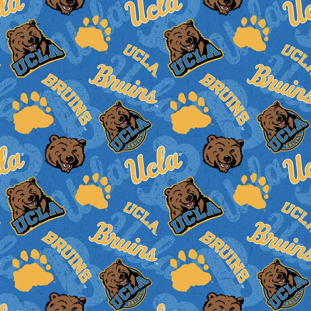 EasyFit College UCLA University of California Los Angeles Bruins Reusable Cloth Face Mask