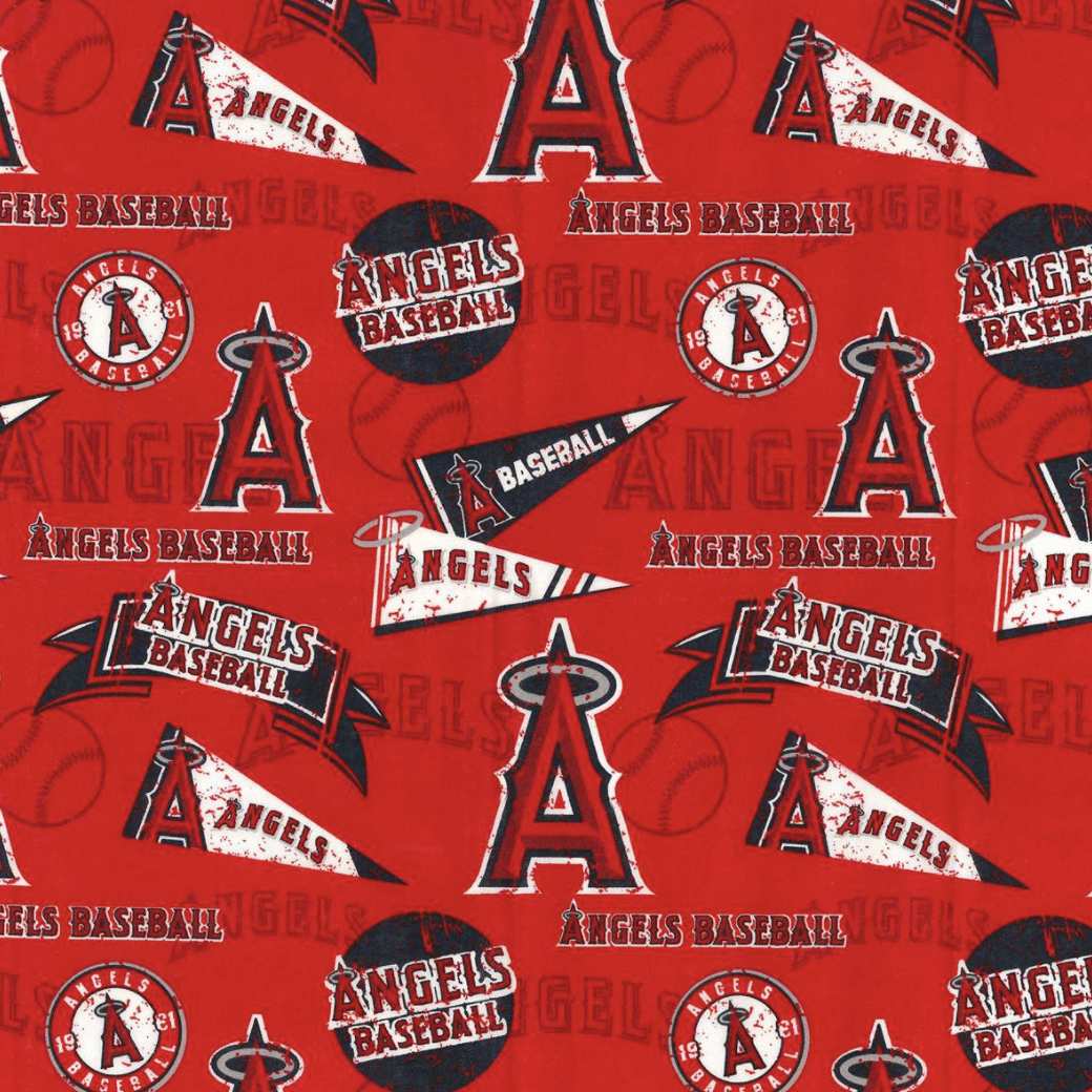 EasyFit Baseball Los Angeles Angels Reusable Cloth Face Mask