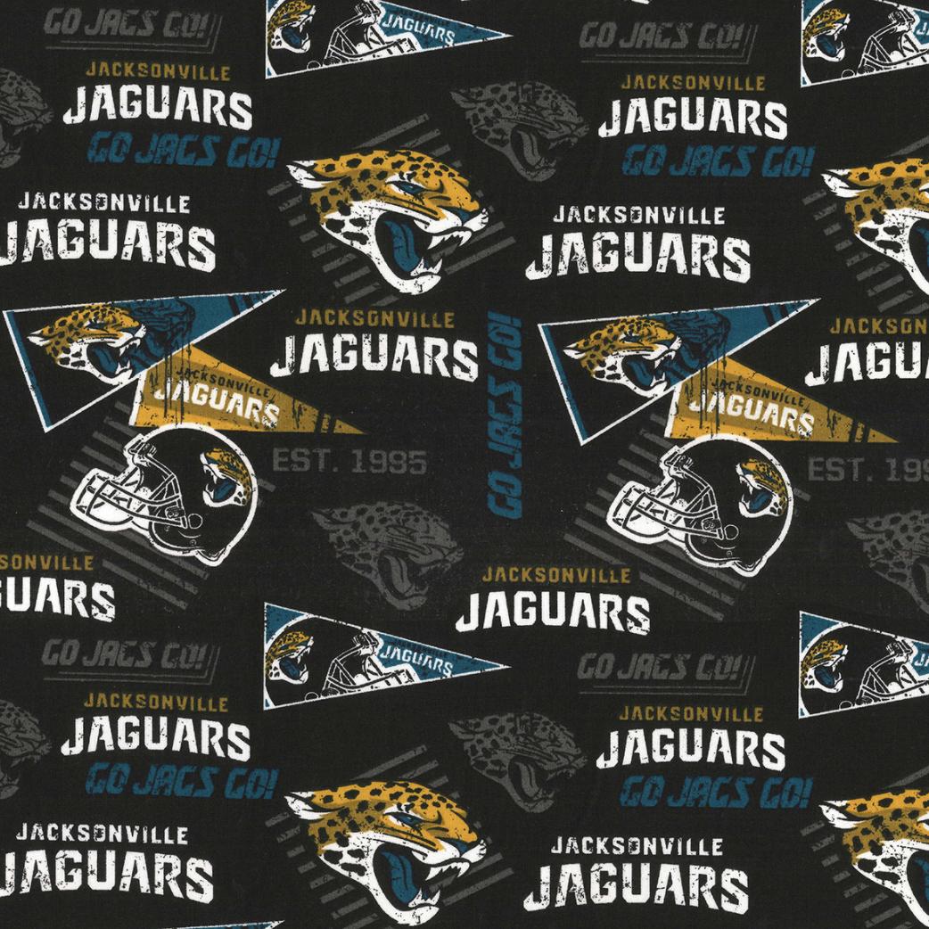 EasyFit Football Jacksonville Jaguars Reusable Cloth Face Mask