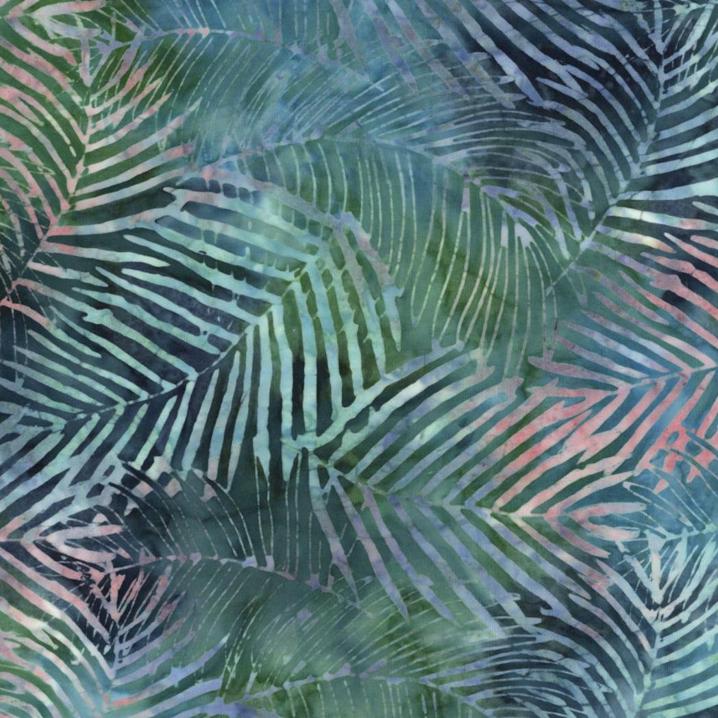 EasyFit Indonesian Batik Tropical Leaves Reusable Cloth Face Mask
