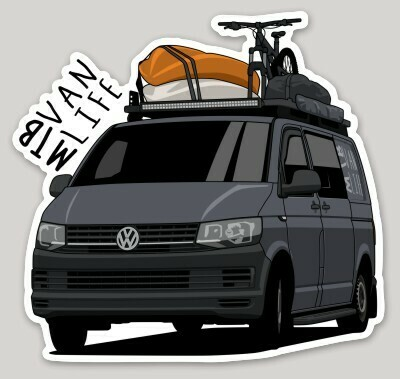 MTBVanLife Single Sticker