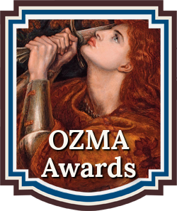 Fantasy Writing Contests | Sword & Sorcery Fiction | Chanticleer Book Reviews 2017 OZMA