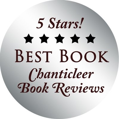 Silver Foil Stickers for Best Books Reviewed by Chanticleer Reviews